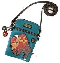 Chala Crossbody Cell Phone Purse - Women PU Leather Multicolor Handbag with Adju
