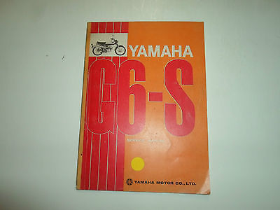 Primary image for 1970s Yamaha G6-S G6 S Service Repair Shop Manual FACTORY OEM BOOK 70s DEAL x