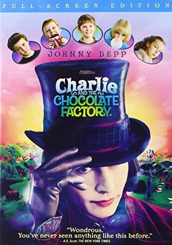 Primary image for Charlie and the Chocolate Factory (Full Screen Edition) [DVD] [2005]