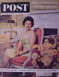 Primary image for The Saturday Evening Post (February 8, 1964, Lady Bird Johnson) [Paperback] [...