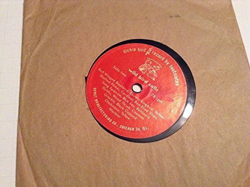 Primary image for Wild Bird Calls 7 Inch 78 Rpm Record [Vinyl] VARIOUS ARTISTS