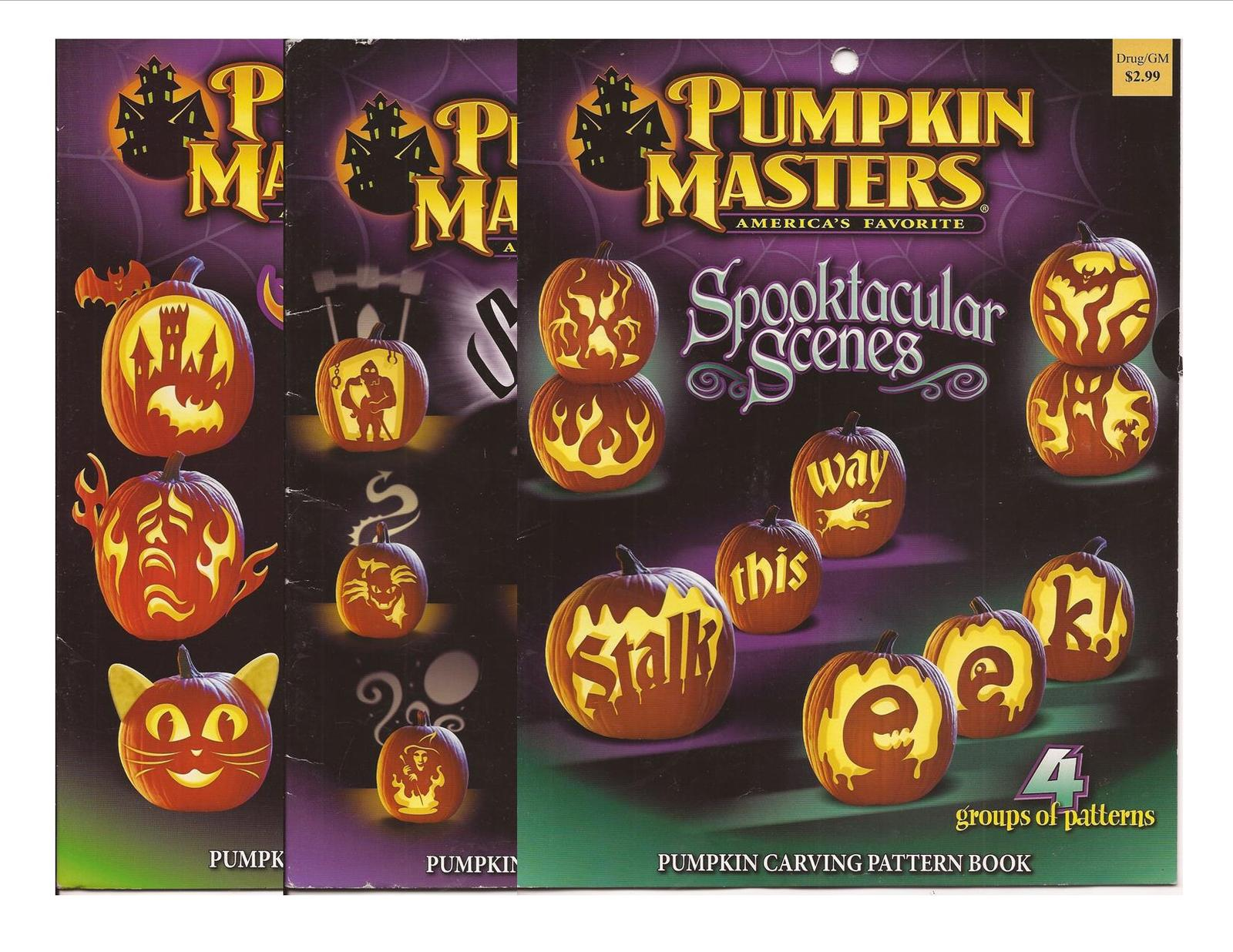 Primary image for Pumpkin Masters Lot Spooktacular Scenes, Sensational Shadows, & Creature Feature