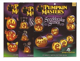 Pumpkin Masters Lot Spooktacular Scenes, Sensational Shadows, & Creature... - £7.56 GBP