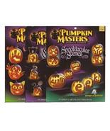 Pumpkin Masters Lot Spooktacular Scenes, Sensational Shadows, & Creature... - $9.95