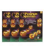 Pumpkin Masters Lot Three Spooktacular Scenes Pumpkin Carving Books - $9.95