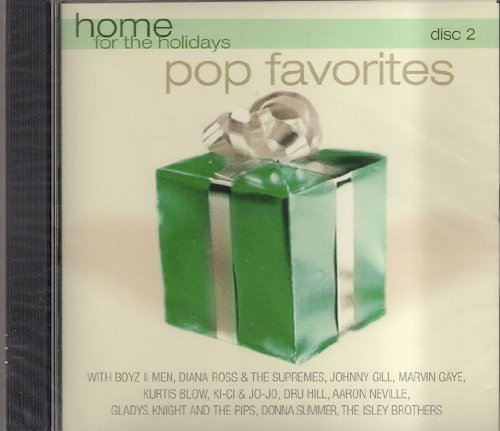 Primary image for Home for the Holidays, Pop Favorites [Audio CD] Various Artists; Elton John; ...