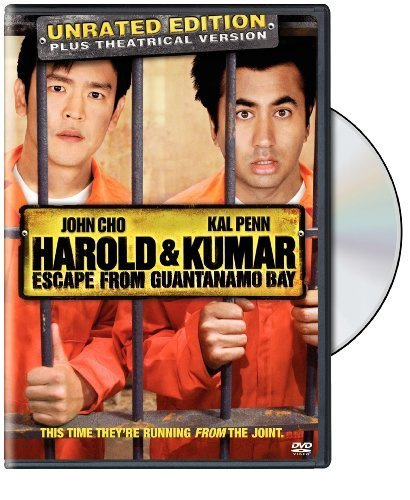Primary image for Harold and Kumar Escape from Guantanamo Bay (Unrated Edition) [DVD] [2008]
