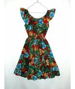 Kole Kole Hawaii Floral Print Ruffled Sun Dress Size 10 - $7.99