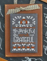 November A Year In Chalk series cross stitch chart Hands On Design - $5.00