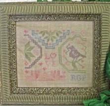 Love Mini Quaker cross stitch chart From The Heart  - $7.20