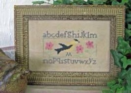 Goldfinch Sampler cross stitch chart From The Heart  - $5.00