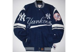 New York Yankees Adults Twill Jacket - $127.95