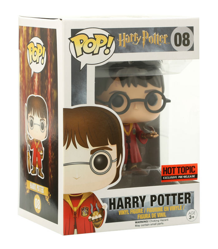 Primary image for Harry Potter: Harry Potter Funko POP (Quidditch) Figure Hot Topic Exclusive NEW