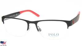 New Polo Ralph Lauren Ph 1168 9319 Rubber Black Eyeglasses Frame 53-18-145 B36mm - $98.98