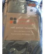 Modern Elements: Rod Pocket Valance Alpine Green Brand New - $7.50