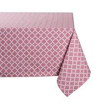 DII Rectangle Lattice Cotton Tablecloth for Weddings, Picnics, Spring Pa... - $42.05