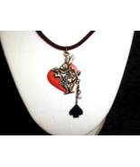 Alice in Wonderland Inspired necklace - $15.00