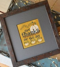 Give Thanks cross stitch chart Hands On Design - $5.00