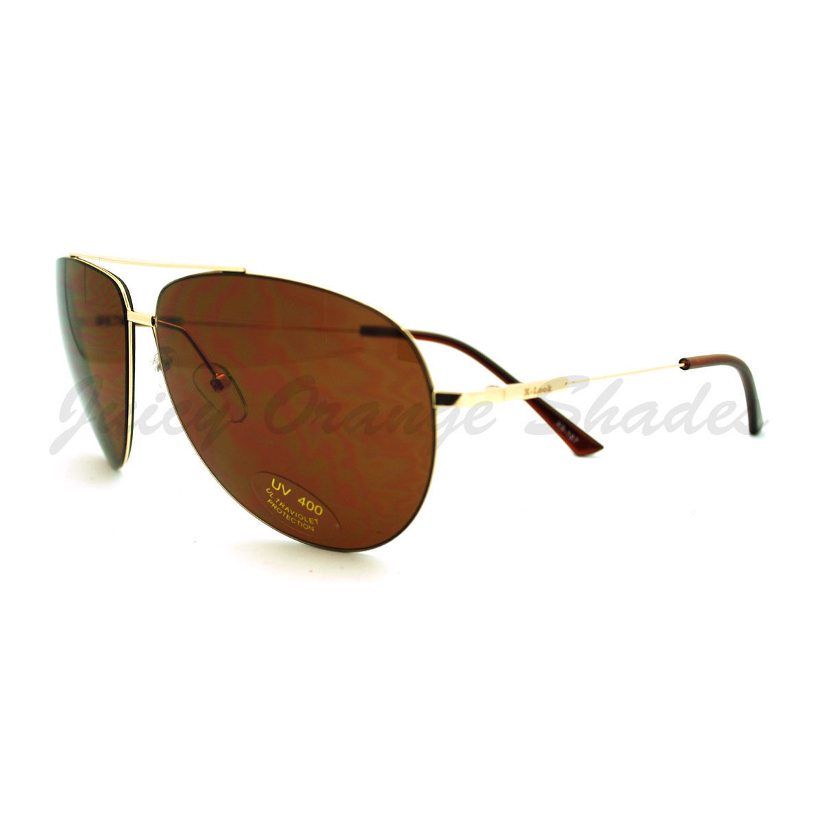 Super Lite Thin Frame Aviator Sunglasses Classic Rimless Look