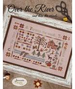 Over The River cross stitch chart Jeanette Doug... - $18.00