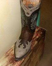 """Fabulous! NEW! Old Gringo Cactus 10"""" Cowgirl Embroidered Cactus Leather Boots - $470.00"""