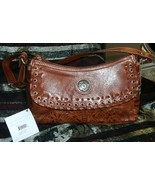 Gorgeous!American West Leather #6315900 Golden Brown Brass Stud, lacing,... - $128.00