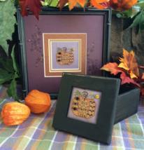 Halloween Pumpkin Box Kit cross stitch kit Shepherd's Bush - $12.00