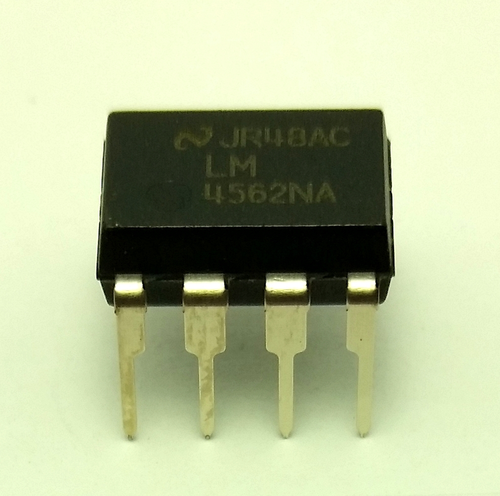 10 x National Semiconductor LM4562NA - Free Shipping - New/Authentic - USA Sell