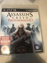 Assassin's Creed: Brotherhood (Sony PlayStation 3, 2010) - $7.81