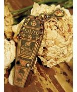 Coffin Thread Organizer Travel size cross stitch accessory Retromantic F... - $6.00