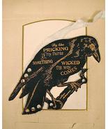 Raven Thread Organizer cross stitch accessory Retromantic Fripperie - $12.00
