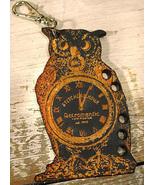 Owl Fob Thread Organizer cross stitch accessory Retromantic Fripperie - $6.00