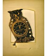 Owl Thread Organizer cross stitch accessory Retromantic Fripperie - $12.00