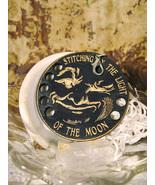 Mr. Moon Fob Thread Organizer cross stitch accessory Retromantic Fripperie - $6.00