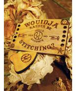Ouija Board Travel Size Thread Organizer/Needleminder cross stitch Retro... - $14.00