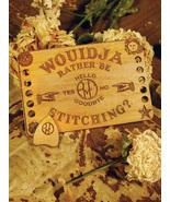 Ouija BoardThread Organizer + Needleminder cross stitch  Retromantic Fri... - $17.00