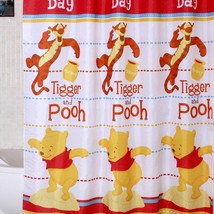 Winnie the Pooh & Tigger Design POLYESTER 180x180 cm Bathroom Shower Cur... - $23.99