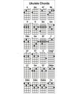 Ukulele Chords Chart Bookmark - $2.95