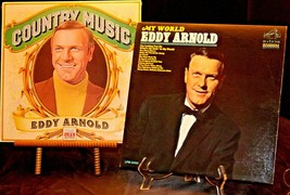 Eddy Arnold - My World and Country Music Eddy Arnold Records AA20-RC2157 Vintage