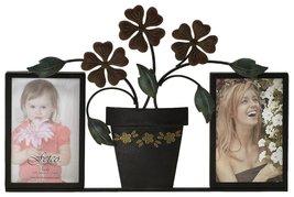 Fetco Home Decor Rosanna Frame with Flower Pot  - $20.99