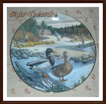 """The Mallard"" by artist Bart Jerner Collectors... - $10.00"