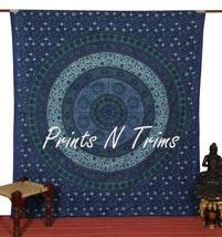 Large Hippy Wall Hanging Sun Moon Mandala Tapestry Bedspread Beach Sheet... - $15.00