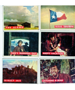 Topp's Cards - Davy Crockett - Green Back Cards -( Set of 6 - 1956) - $14.00
