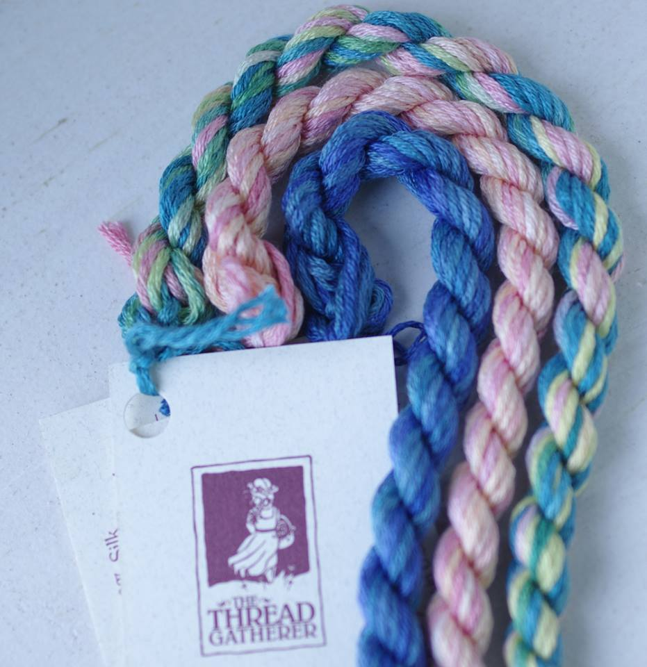 Primary image for Ocean Tropicals Limited Edtion Pack Silk n Colors The Thread Gatherer