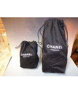 Chanel cosmetic bags drawstring RARELY SEEN HTF - $95.00