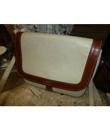 vintage Bally purse handbag white leather shoulder bag - $115.00