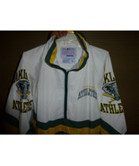 rare oakland a's starter pullover vintage 1980's for the super fan size xl - $160.00