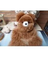 Paquito 100% Alpaca fur teddy bear plush doll - $39.00