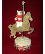 "The Hamilton Collection Coca-Cola ""Beary-Go-Round ""Tasty Trotter"" Figuri... - $38.62"