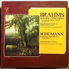 Primary image for Brahms: Double Concerto in A Minor for Violin. Cello & Orchestra, Op. 102 ~ S...